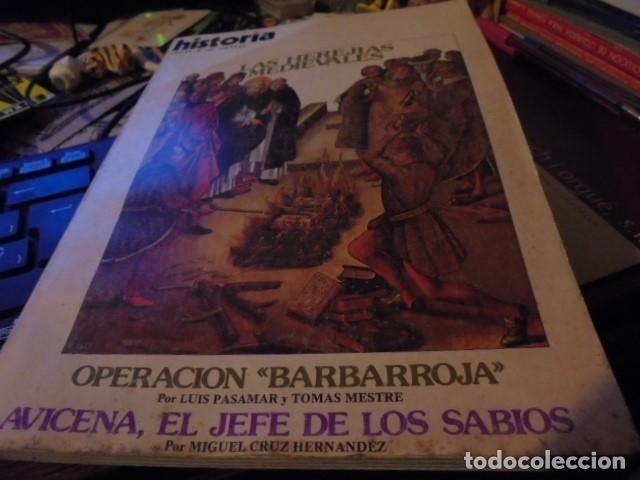 HISTORIA 62 - HEREJIAS MEDIEVALES / OPERACION BARBARROJA / AVICENA / LERROUX - (Coleccionismo - Revistas y Periódicos Modernos (a partir de 1.940) - Revista Historia 16)