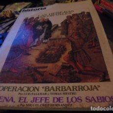 Coleccionismo de Revista Historia 16: HISTORIA 62 - HEREJIAS MEDIEVALES / OPERACION BARBARROJA / AVICENA / LERROUX - ENVIO GRATIS. Lote 119921943