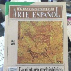 Coleccionismo de Revista Historia 16: CUADERNOS DE ARTE ESPAÑOL Nº 24 LA PINTURA PREHISTORICA LEVANTINA MARIA CONCEPCION BLASCO BOSQUED. Lote 201216790