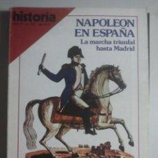 Coleccionismo de Revista Historia 16: HISTORIA 16, Nº 129 - NAPOLEÓN EN ESPAÑA, LA COLONIZACIÓN ROMANA DE ANDALUCÍA, LHARDY MADRID ... . Lote 121672919