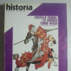 Coleccionismo de Revista Historia 16: HISTORIA 16, Nº 34 - ALEJANDRO MAGNO, ARCO LARGO, CASTILLA FEUDAL: LA GUERRA COMO OFICIO ... . Lote 121673035