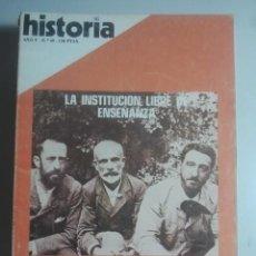 Coleccionismo de Revista Historia 16: HISTORIA 16, Nº 49 - INSTITUCIÓN LIBRE DE ENSEÑANZA, ALMOGÁVARES, LA ALQUIMIA ... . Lote 121673487