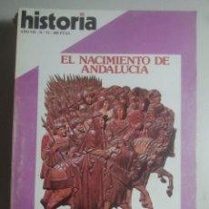 Coleccionismo de Revista Historia 16: HISTORIA 16, Nº 73 - NACIMIENTO DE ANDALUCÍA, RITOS SEXUALES, LA COCA, ALI BEY, TESOROS DE VILLENA . Lote 121673651