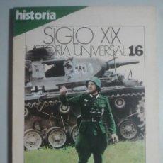Coleccionismo de Revista Historia 16: LA GUERRA RELÁMPAGO - HISTORIA 16 - SIGLO XX, HISTORIA UNIVERSAL, 16. Lote 121675651