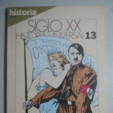 Coleccionismo de Revista Historia 16: EL TERREMOTO NAZI - HISTORIA 16 - SIGLO XX, HISTORIA UNIVERSAL, 13. Lote 121675803