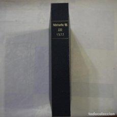 Coleccionismo de Revista Historia 16: HISTORIA 16. 1977 VOLÚMEN III. Lote 126476879