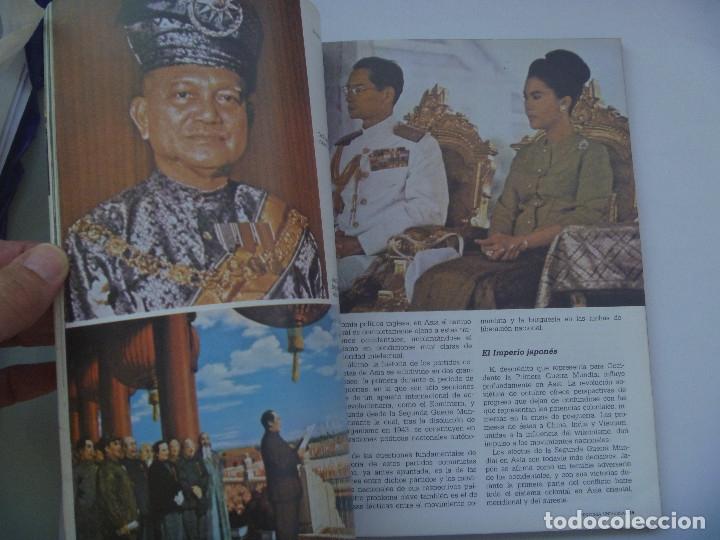 HISTORIA´16 : SIGLO XX, HISTORIA UNIVERSAL, Nº 22: LA REBELION DE ASIA,  INDEPENDENCIA INDIA PAKISTAN