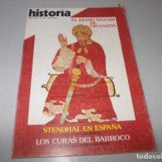 Colecionismo da Revista Historia 16: HISTORIA 16 AÑO XIII Nº 89. EL REINO NAZARÍ DE GRANADA. STENDHAL EN ESPAÑA. LOS CURAS DEL BARROCO. . Lote 128922663