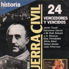 Collectionnisme de Magazine Historia 16: HISTORIA 16. LA GUERRA CIVIL 24. VENCEDORES Y VENCIDOS / MUNDI-3169. Lote 130674494