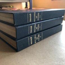 Coleccionismo de Revista Historia 16: HISTORIA 16 - HISTORIA DE ESPAÑA COMPLETA, 13 VOLÚMENES ENCUADERNADOS EN 3 TOMOS. 1980.. Lote 132099130
