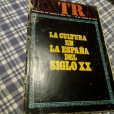 Coleccionismo de Revista Historia 16: LA CULTURA EN LA ESPAÑA DEL SIGLO XX ESPECIAL TRIUNFO 507 1972. Lote 133657518
