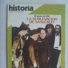 Coleccionismo de Revista Historia 16: HISTORIA´16 , Nº 76, 1982 : SUBLEVACION SANJURJO , GUERRAS FLANDES , DELFOS, ETC. Lote 133688266