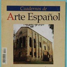 Coleccionismo de Revista Historia 16: CUADERNOS DE ARTE ESPAÑOL. Nº55. ARQUITECTURA PALATINA DEL NARANCO. MARTA CUADRADO SANCHEZ. Lote 237300675