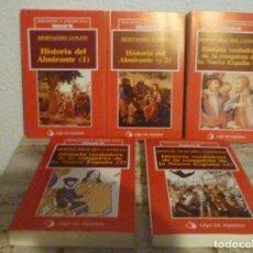 Coleccionismo de Revista Historia 16: LOTE DE 5 ANTIGUOS LIBROS BIBLOTECA AMERICANA HISTORIA 16 DE 1991 COMO NUEVOS. Lote 135903878