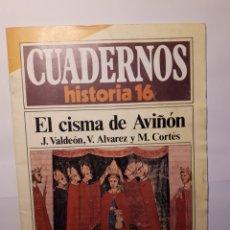 Coleccionismo de Revista Historia 16: EL CISMA DE AVIÑON. CUADERNOS HISTORIA 16 Nº 291. Lote 136210098