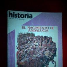 Colecionismo da Revista Historia 16: HISTORIA 16. NÚMERO 73 AÑO VII. , EL NACIMIENTO DE ANDALUCÍA. AVENTURAS DE ALI BEY. . Lote 136349066