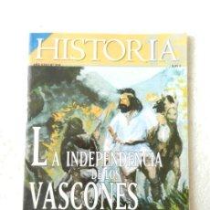 Coleccionismo de Revista Historia 16: REVISTA HISTORIA 16 Nº 314 MAYO 2002 - LA INDEPENDENCIA DE LOS VASCONES. Lote 138058946