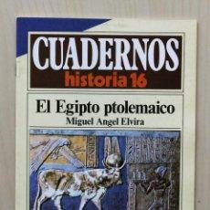 Coleccionismo de Revista Historia 16: CUADERNOS HISTORIA 16, NUM 264. EL EGIPTO PTOLEMAICO - ELVIRA, MIGUEL ANGEL. Lote 139831265