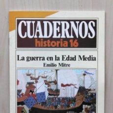 Coleccionismo de Revista Historia 16: CUADERNOS HISTORIA 16, NUM 266. LA GUERRA EN LA EDAD MEDIA - MITRE, EMILIO. Lote 139831273