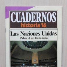 Coleccionismo de Revista Historia 16: CUADERNOS HISTORIA 16, NUM 277. LAS NACIONES UNIDAS - DE IRAZAZÁBAL, PABLO J.. Lote 139831289