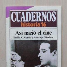 Coleccionismo de Revista Historia 16: ASÍ NACIÓ EL CINE. (CUADERNOS HISTORIA 16, Nº 289) - GARCIA, EMILIO C. - SANCHEZ, SANTIAGO. Lote 139831317