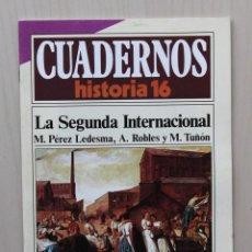 Coleccionismo de Revista Historia 16: CUADERNOS HISTORIA 16, NUM 297. LA SEGUNDA INTERNACIONAL - PEREZ LEDESMA, M. - ROBLES, A. - TUÑÓN, M. Lote 139831337