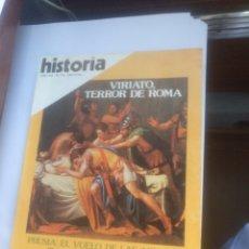 Coleccionismo de Revista Historia 16: HISTORIA 16 N° 74 VIRIATO TERROR DE ROMA. Lote 139950266