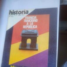 Coleccionismo de Revista Historia 16: HISTORIA 16 N° 24 FRANCIA TRAICIONO A LA REPUBLICA. Lote 139950461