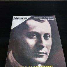 Coleccionismo de Revista Historia 16: JUICO Y MUERTE DE JOSE ANTONIO POR IAN GIBSON. INFORME: EL IMPERIO DE JUSTINIANO. AÑO XI Nº 127 NOV. Lote 142806866