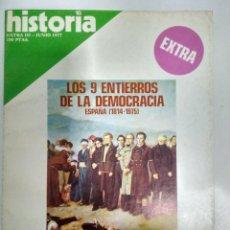 Coleccionismo de Revista Historia 16: HISTORIA 16 EXTRA.- JUNIO 1977. Lote 143500454
