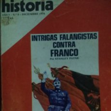 Coleccionismo de Revista Historia 16: HISTORIA 16. AÑO I NÚMERO 8. DICIEMBRE 1976. REVISTA.. Lote 146758122