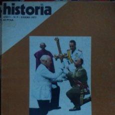 Coleccionismo de Revista Historia 16: HISTORIA 16. AÑO I NÚMERO 9. ENERO 1977. REVISTA.. Lote 146758409