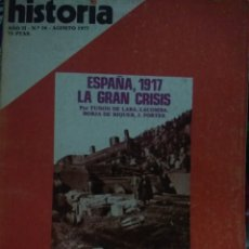 Coleccionismo de Revista Historia 16: HISTORIA 16. AÑO II NÚMERO 16. AGOSTO 1977. REVISTA.. Lote 146758878