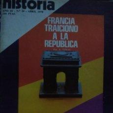 Coleccionismo de Revista Historia 16: HISTORIA 16. AÑO III NÚMERO 24. ABRIL 1978. REVISTA.. Lote 146759388
