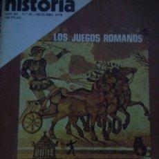 Coleccionismo de Revista Historia 16: HISTORIA 16. AÑO III NÚMERO 30. OCTUBRE 1978. REVISTA.. Lote 146759728
