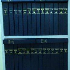 Coleccionismo de Revista Historia 16: HISTORIA 16. 132 NÚMEROS DEL 189 (ENERO 1992) AL 320 (DICIEMBRE 2002). ENCUADERNADOS EN 33 VOLÚMENES. Lote 146393777