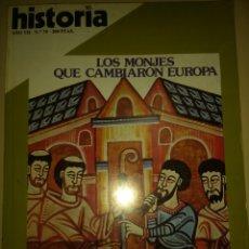 Coleccionismo de Revista Historia 16: HISTORIA 16. AÑO VII NÚMERO 70. FEBRERO 1982. REVISTA.. Lote 148060134