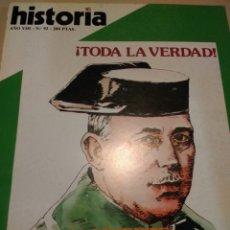 Coleccionismo de Revista Historia 16: HISTORIA 16. AÑO VIII NÚMERO 92. DICIEMBRE 1983. REVISTA.. Lote 148075721