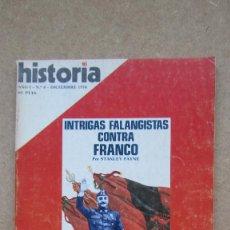Coleccionismo de Revista Historia 16: HISTORIA 16. Nº 8 AÑO I INTRIGAS FALANGISTAS CONTRA FRANCO. Lote 148555622