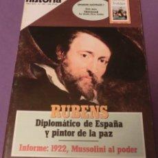 Coleccionismo de Revista Historia 16: HISTORIA 16 Nº 199 - RUBENS DIPLOMÁTICO DE ESPAÑA Y PINTOR DE LA PAZ. Lote 152597774