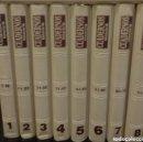 Coleccionismo de Revista Historia 16: CUADERNOS HISTORIA 16 -TOMOS 1 A 10 (100 CUADERNOS)- IMPECABLE, PERFECTO ESTADO. Lote 152728922