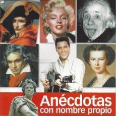 Collectionnisme de Magazine Historia 16: ANECDOTAS CON NOMBRE PROPIO. COLECCION HISTORIA Y VIDA. . Lote 153794762