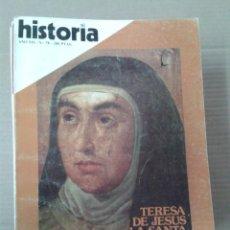Coleccionismo de Revista Historia 16: HISTORIA 16, AÑO VII, NUM. 78. TERESA DE JESUS LA SANTA REFORMADORA. Lote 155133990