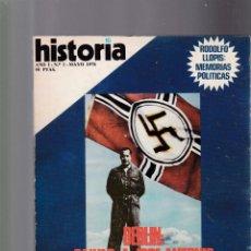 Coleccionismo de Revista Historia 16: HISTORIA 16 - AÑO I / Nº I - BERLIN : SALVAD A JOSE ANTONIO - MAYO 1976. Lote 155136010