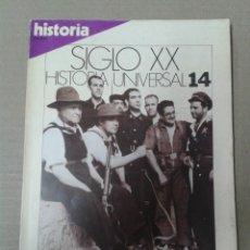 Colecionismo da Revista Historia 16: HISTORIA 16, SIGLO XX. HISTORIA UNIVERSAL NUMERO 14. LA GUERRA CIVIL ESPAÑOLA. Lote 155164714