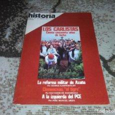 Coleccionismo de Revista Historia 16: REVISTA HISTORIA 16 Nº 13 LOS CARLISTAS CIENTO CINCUENTA AÑOS DE LUCHA MAYO 2977. Lote 155453142