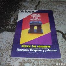 Coleccionismo de Revista Historia 16: REVISTA HISTORIA 16 Nº 24 FRANCIA TRAICIONÓ A LA REPUBLICA ABRIL 1978. Lote 155453658