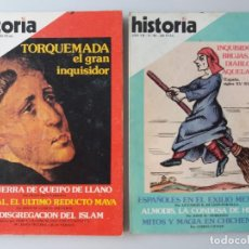 Coleccionismo de Revista Historia 16: 2 REVISTAS HISTORIA 16 SOBRE BRUJERIA E INQUISICION. Lote 155746086