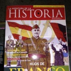 Coleccionismo de Revista Historia 16: REVISTA LA AVENTURA DE LA HISTORIA AÑO 8 Nº85. HIJOS DE FRANCO. Lote 155823397