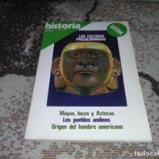 Coleccionismo de Revista Historia 16: REVISTA HISTORIA 16 EXTRA VI JUNIO 1978 LAS CULTURAS PRECOLOMBINAS. Lote 155937778